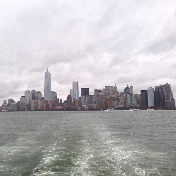 Photo taken at New York Harbor by Roberto M. on 11/28/2013