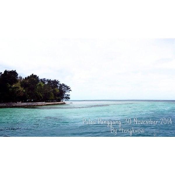 Photo taken at Pulau Pramuka by Tengku O. on 11/30/2014