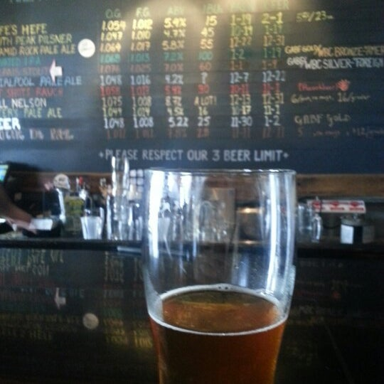 Photo taken at La Cumbre Brewing Company by Max D. on 2/6/2013