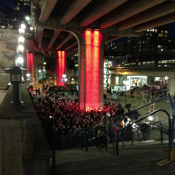 Photo taken at Rogers Arena by Steven J. on 11/27/2012