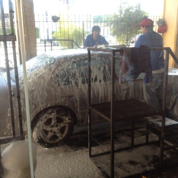 Photo taken at Handy J Car Wash by joni on 4/12/2013