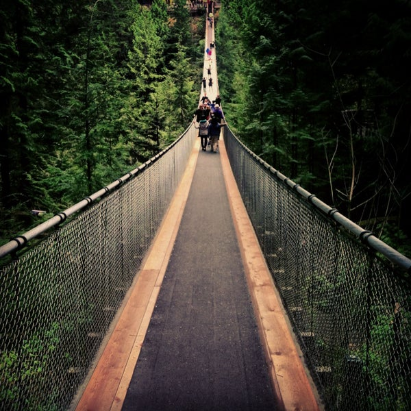 Capilano suspension bridge discount coupons