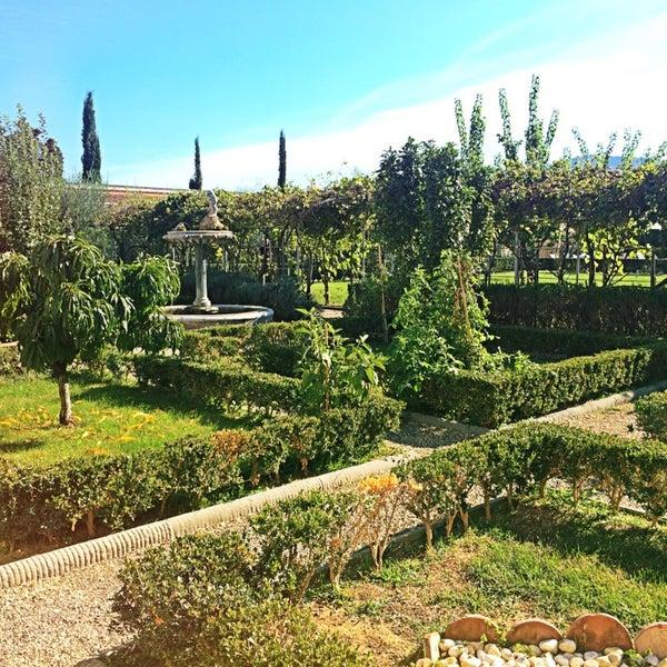 Photo taken at Villa Olmi Firenze by Maria P. on 9/26/2014