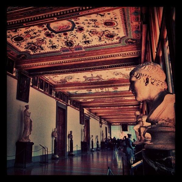 Photo taken at Uffizi Gallery by jaddan b. on 1/2/2013
