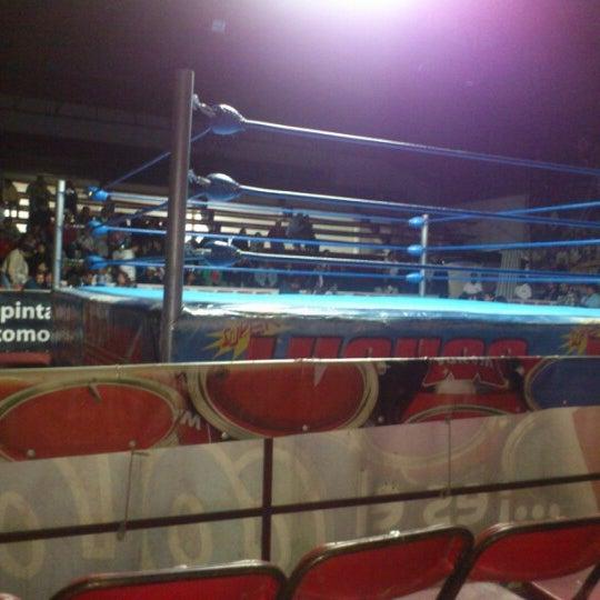 Photo taken at Arena Adolfo Lopez Mateos by Mace C. on 12/2/2012