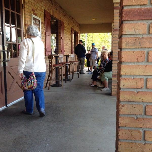Photo taken at Oakwood Smokehouse & Grill by Jeffrey B. on 4/16/2014