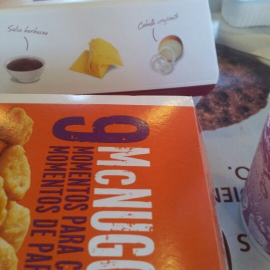 Photo taken at McDonald's by Andrés G. on 10/1/2012