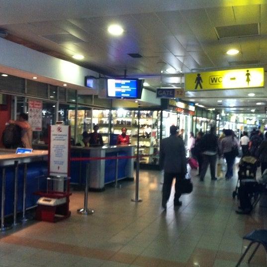 Photo taken at Jomo Kenyatta International Airport (NBO) by Henry Y. on 9/22/2012