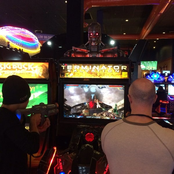 Photo taken at Dave & Buster's by Ken S. on 1/4/2014