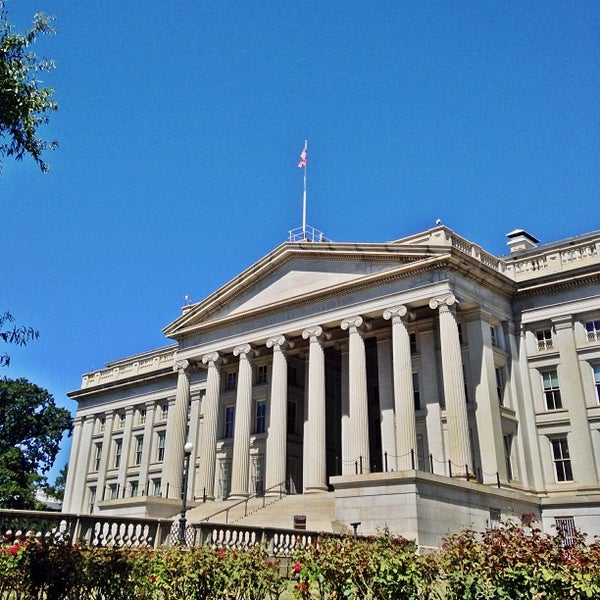 Photo taken at US Department of the Treasury by Fletch on 9/7/2013