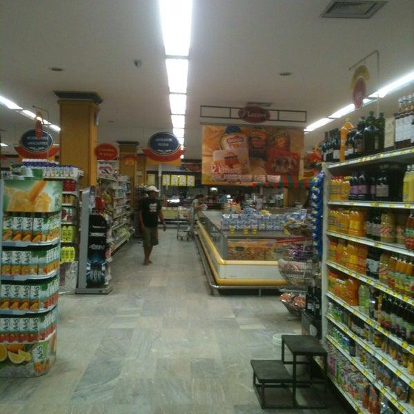 Photo taken at Supermercados Nazaré by Maylson S. on 2/2/2013
