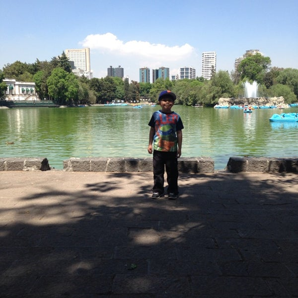 Photo taken at Bosque de Chapultepec by Isaac M. on 3/8/2014