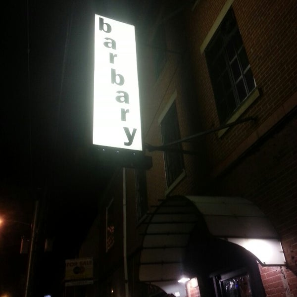 Photo taken at The Barbary by td2bd D. on 4/2/2013