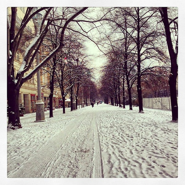 Photo taken at U Weberwiese by Daniel L. on 3/12/2013