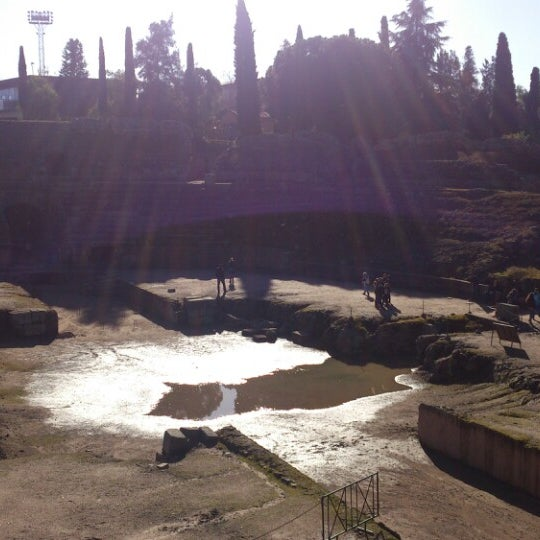 Photo taken at Anfiteatro Romano by Lola on 12/28/2013