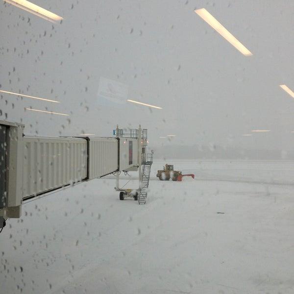 Photo taken at Portland International Jetport (PWM) by Zoe D. on 12/27/2012