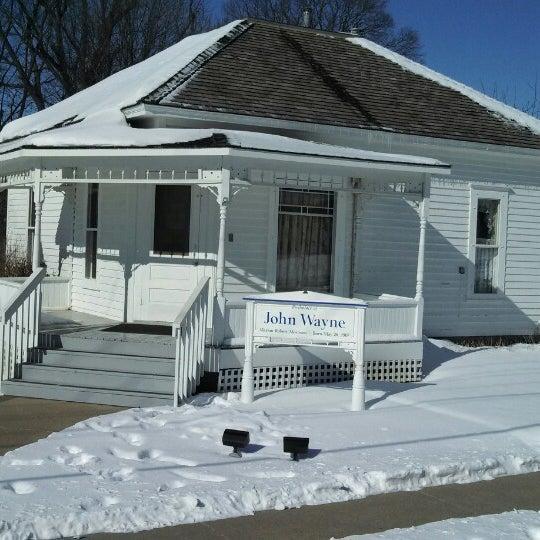 Photo taken at John Wayne Birthplace Museum by Gary K. on 2/11/2014