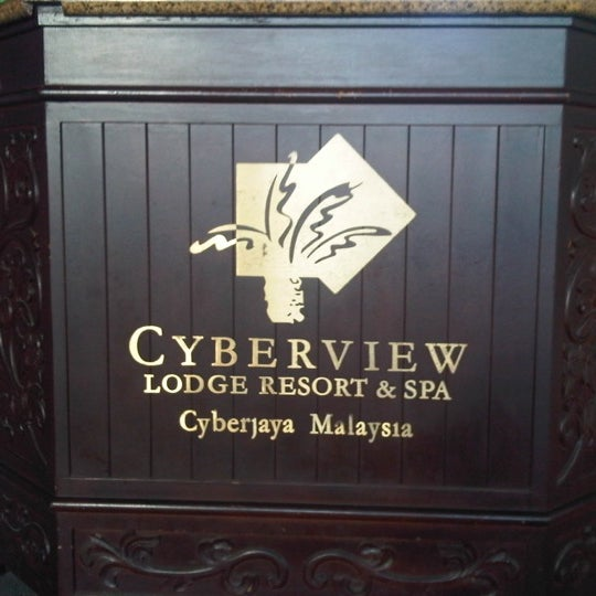 Photo taken at Cyberview Lodge Resort & Spa by Lucky N. on 6/4/2012