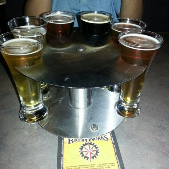 Photo taken at Felgey's Bethlehem Brew Works by Mary D. on 9/22/2012