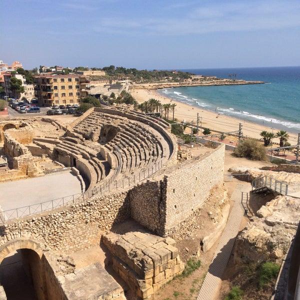 Photo taken at Port de Tarragona by Илья Г. on 9/5/2016