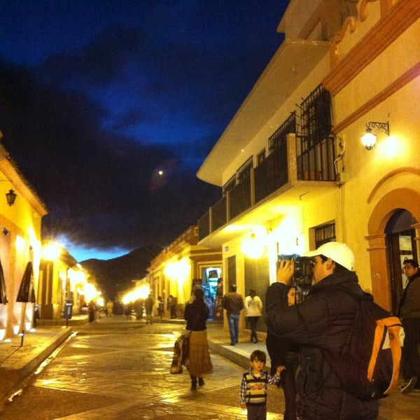 Photo taken at Andador Real de Guadalupe by Oscar G. on 1/20/2013