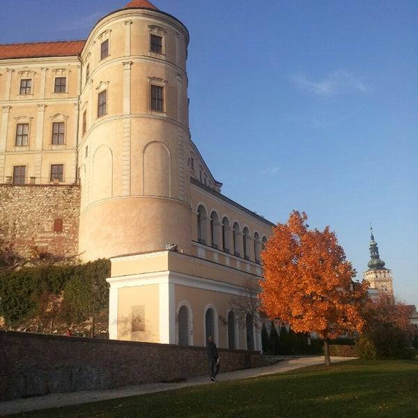 Photo taken at Zámek Mikulov by Mikael H. on 10/19/2013