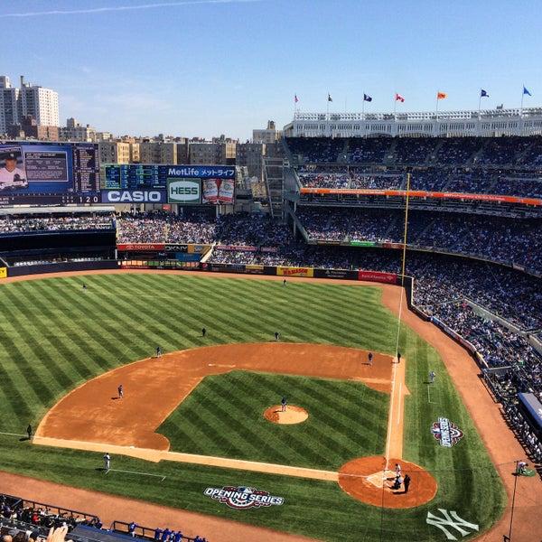 Photo taken at Yankee Stadium by David B. on 4/6/2015