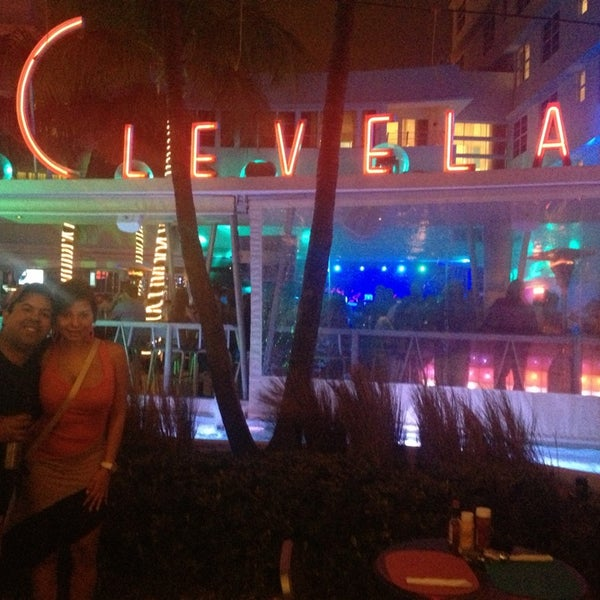 Photo taken at Clevelander by DjFolly O. on 3/11/2013