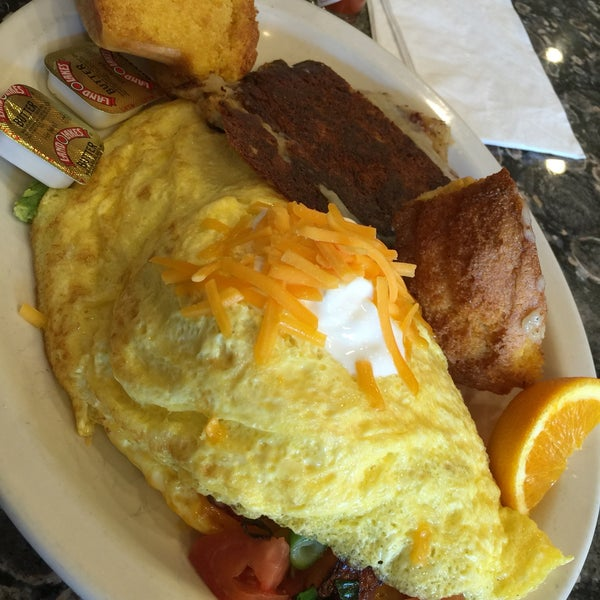 Great Mexican Omelette! One of the best, love the avocado in it!