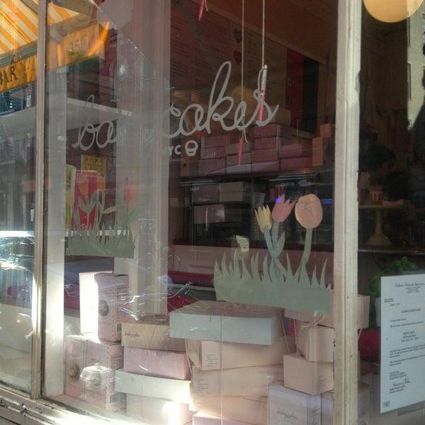 Photo taken at Erin McKenna's Bakery by Karime C. on 5/17/2013