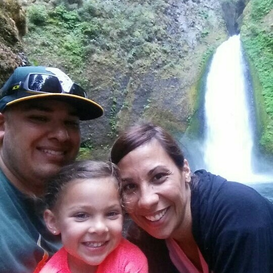 Photo taken at Wahclella Falls Trail by Fernando G. on 7/17/2015