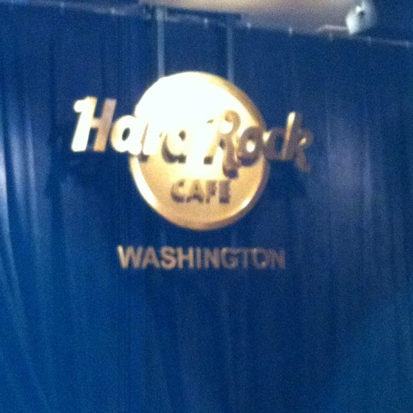 Photo taken at Hard Rock Cafe Washington DC by Barbara M. on 3/13/2014