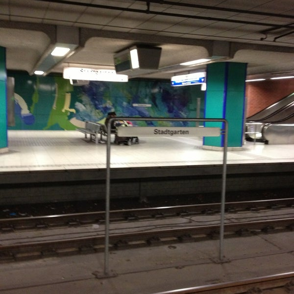 U stadtgarten metro station in dortmund - Stadtgarten dortmund ...