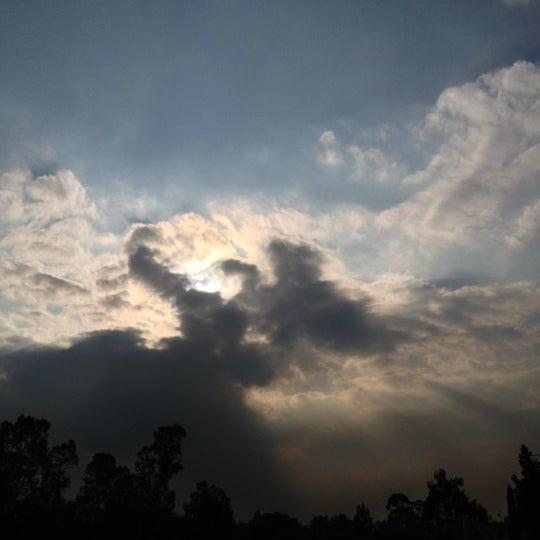 Photo taken at Parque Ecologico Huayamilpas by Viridiana H. on 11/22/2012