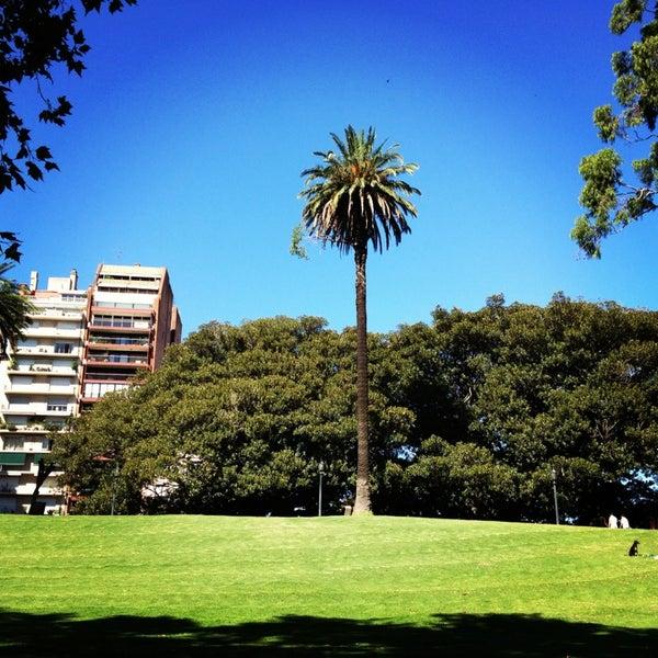 Photo taken at Plaza Francia by Martin O. on 2/16/2013