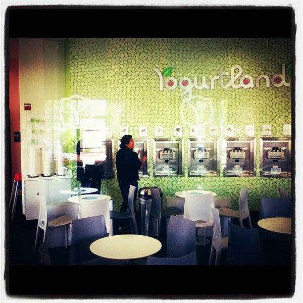 Photo taken at Yogurtland by anthony g. on 9/29/2012