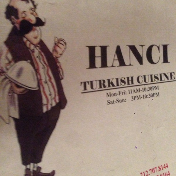Photo taken at Hanci Turkish Cuisine by Odded M. on 1/18/2014