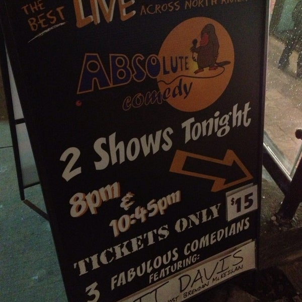 Photo taken at Absolute Comedy by Kaori F. on 1/19/2014