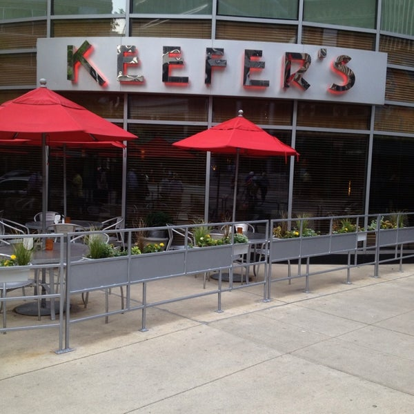 Keefer 39 s restaurant now closed american restaurant in for American cuisine chicago