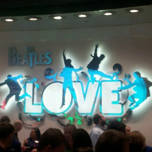 Photo taken at The Beatles LOVE (Cirque Du Soleil) by Chris S. on 3/26/2014
