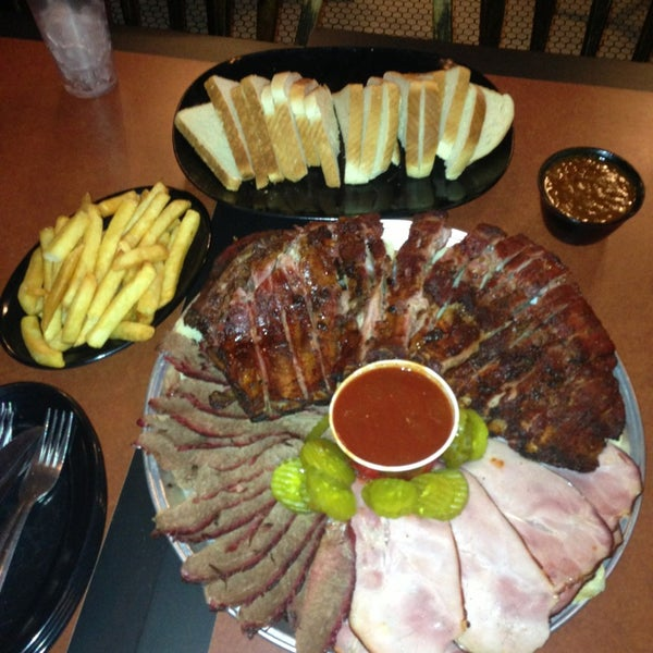 Photo taken at Gates Bar-B-Q by David C. on 1/21/2013
