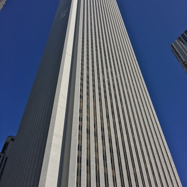 Photo taken at Aon Center by Jonathan F. on 10/17/2015