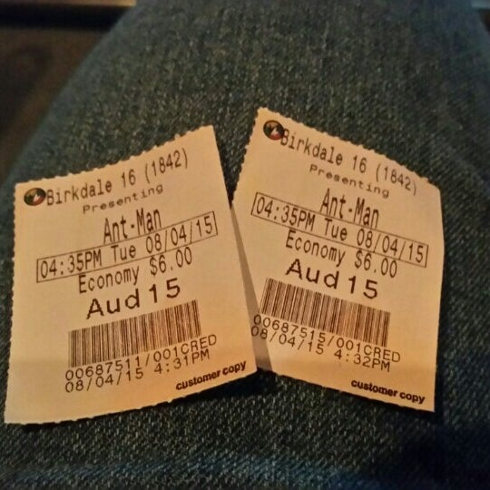 Photo taken at Regal Cinemas Birkdale 16 & RPX by Angelia H. on 8/4/2015