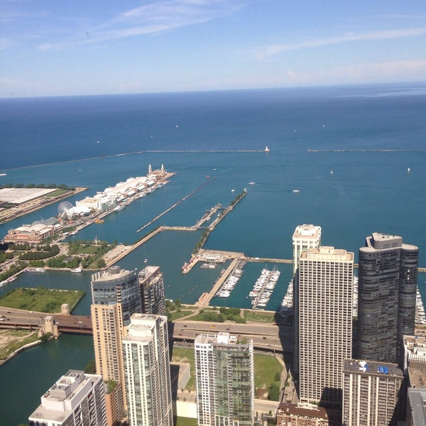 Photo taken at Aon Center by Katerina G. on 7/30/2015