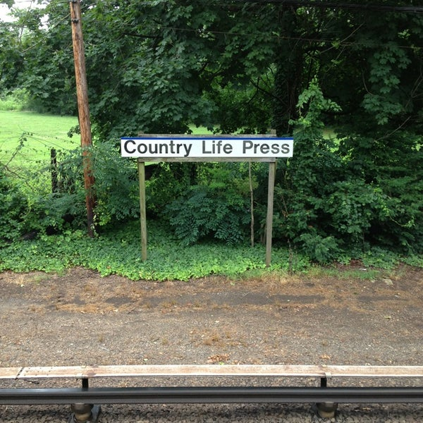 Lirr Country Life Press Station Train Station In