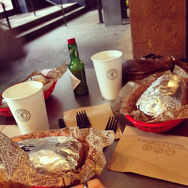 Photo taken at Chipotle Mexican Grill by Adam F. on 4/27/2014