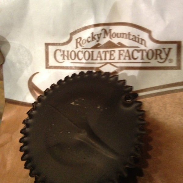 Photo taken at Rocky Mountain Chocolate Factory by Tom M. on 7/26/2013