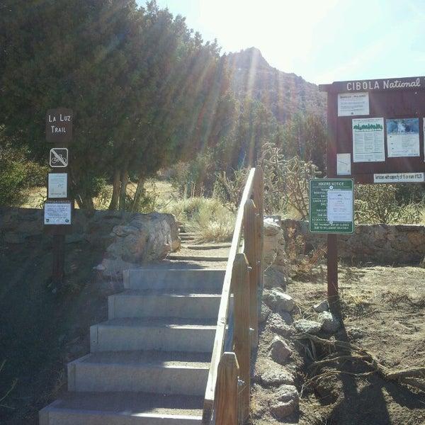 Photo taken at La Luz Trailhead by Rob L. on 3/30/2013