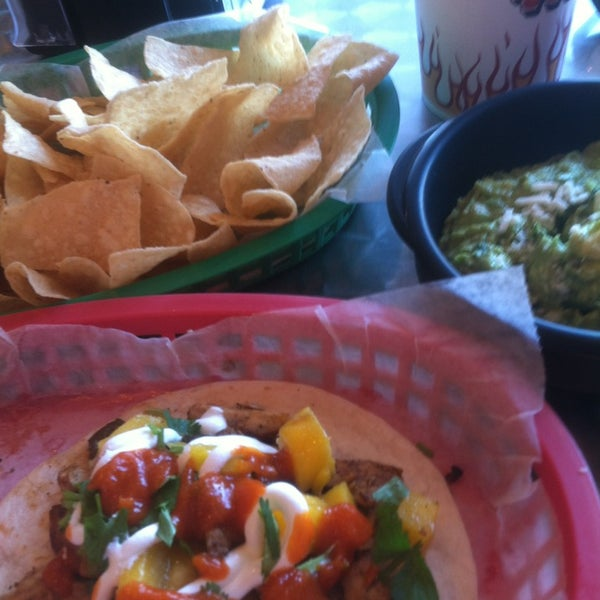 Photo taken at Torchy's Tacos by Erin Z. on 1/17/2013