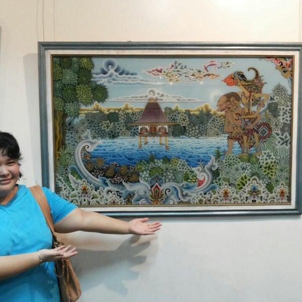 Photo taken at Museum Seni Rupa dan Keramik by Thea K. on 5/31/2014
